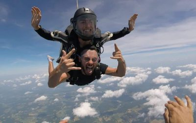 Ohio Skydiving in July