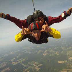 first time skydiving near Cleveland georgia
